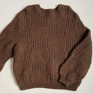 Vintage oversized knit sweater